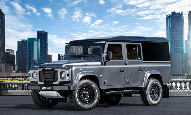 land rover defender startech sixty8 tuning suv offroad