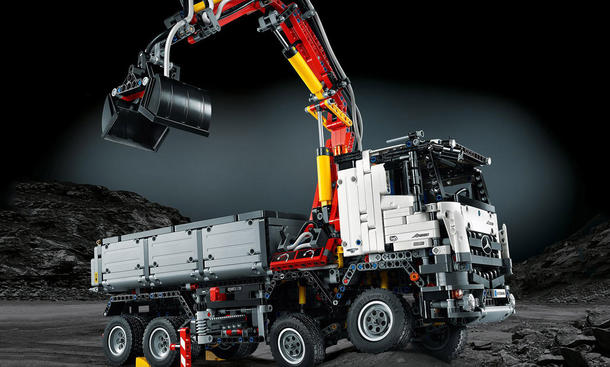 Mercedes Arocs Lego Technik Truck Lkw Spielzeug Modell