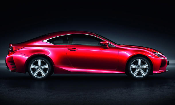 Lexus RC 200t 2015 Mittelklasse-Coupé Basis-Motor Turbo-Vierzylinder