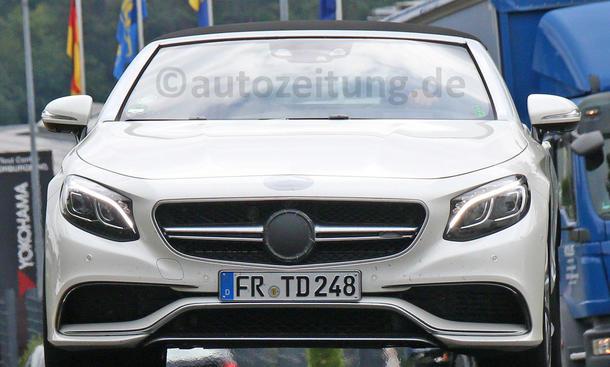 Mercedes-AMG S 63 Cabrio S-Klasse Erlkoenig Luxusklasse