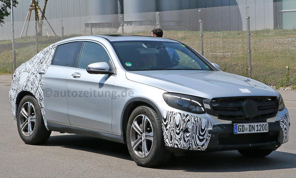 Mercedes GLC Coupé 2016 Erlkönig SUV-Coupé