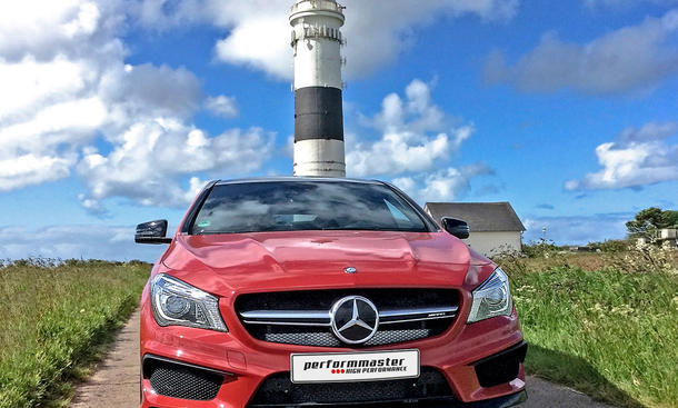 Performmaster Tuning Mercedes CLA 45 AMG Shooting Brake