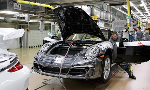 Porsche Investitionen Standort Deutschland Zuffenhausen Weissach Ludwigsburg