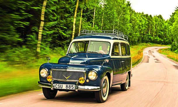 Volvo PV 445 Duett Kombi-Klassiker Süd-Schweden Reportage