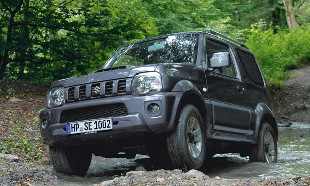 suzuki jimny im gebrauchtwagen check. Black Bedroom Furniture Sets. Home Design Ideas