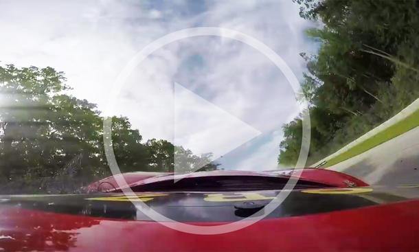 Ferrari 458: Crash-Video