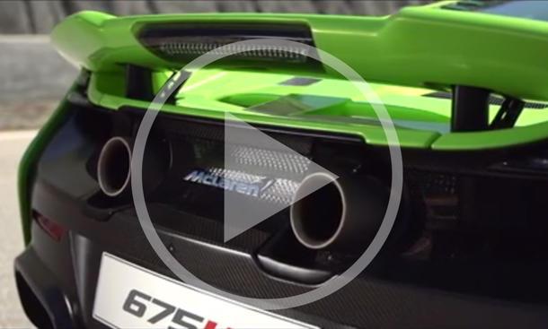 McLaren 675LT im Video