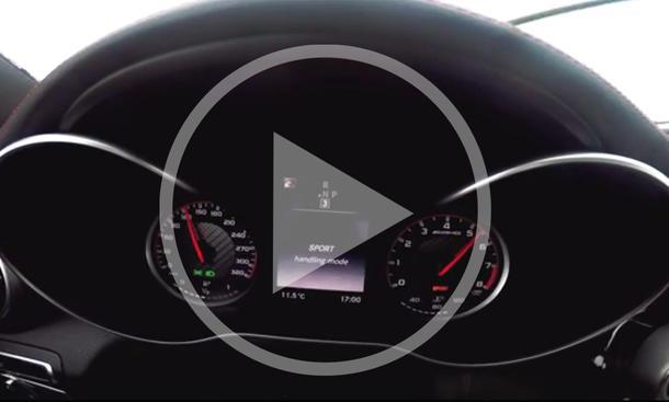 Mercedes-AMG C 63 S: Beschleunigung im Video