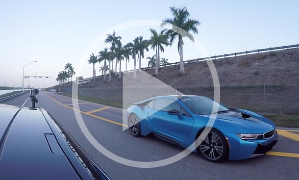 Video: Tesla Model S P85d vs. BMW i8