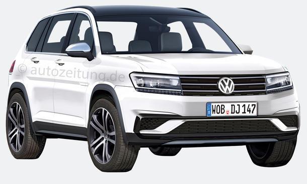 VW Tiguan 2015 SUV Neuheiten