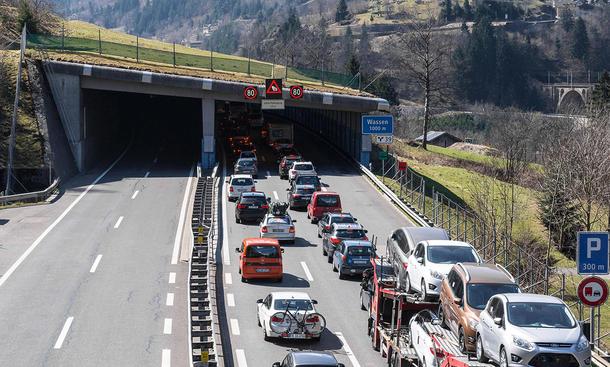 alpen tunnel baustelle gotthard 2015 2016