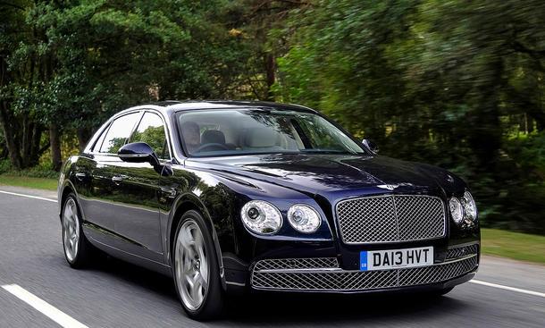 Top-12 der stärksten Luxuslimousinen: Bentley Flying Spur