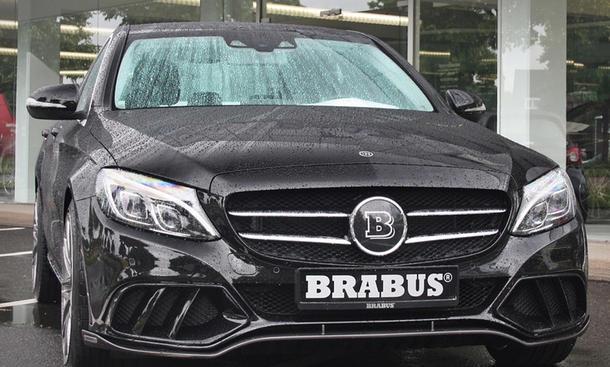 Brabus Mercedes C-Klasse Tuning Fotos AMG Sportpaket