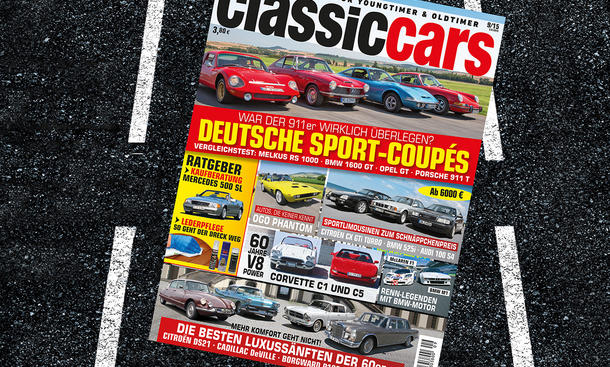 Classic Cars 09/2015 Heft-Vorschau Themen