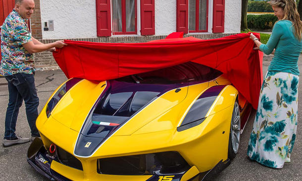 ferrari fxx k google executive benjamin sloss wife christine