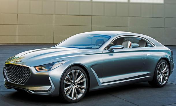 Hyundai Vision G Coupé 2015 IAA Pebble Beach Studie Concept