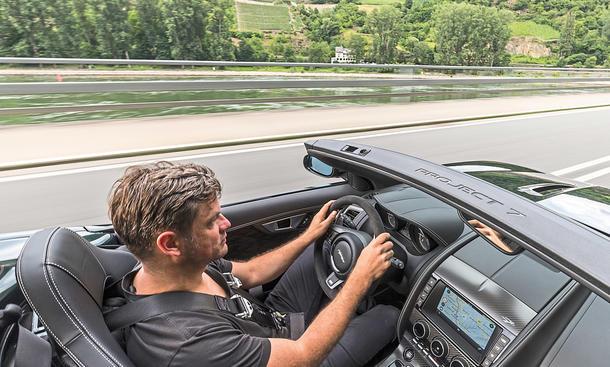 jaguar f-type project 7 roadster sportcabrio prototyp studie zweisitzer