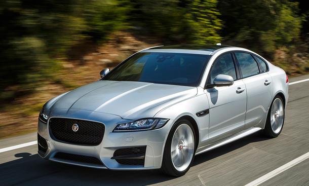 jaguar xf 2015 iaa messe vorstellung fahrbericht