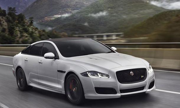 Top-12 der stärksten Luxuslimousinen: Jaguar XJR