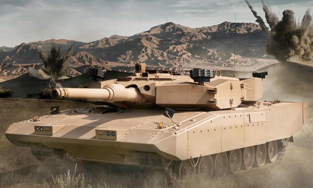 entwicklung technik panzer zukunft