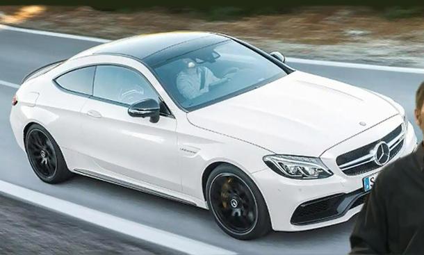 Mercedes-AMG C 63 Coupé 2015 IAA Leak C-Klasse V8-Biturbo