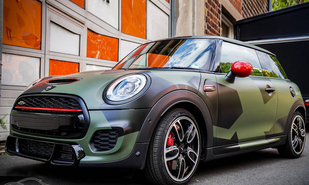 mini john cooper works tuning sidney industries check matt dortmund sportpaket folierung