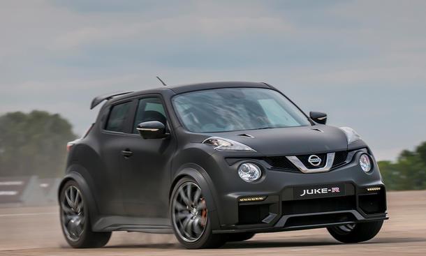 Nissan Juke R 2.0 2015 600 PS 17 Stück
