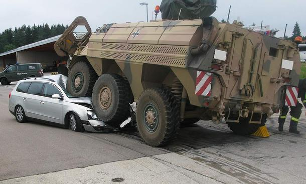 Panzer-Unfälle in Deutschland