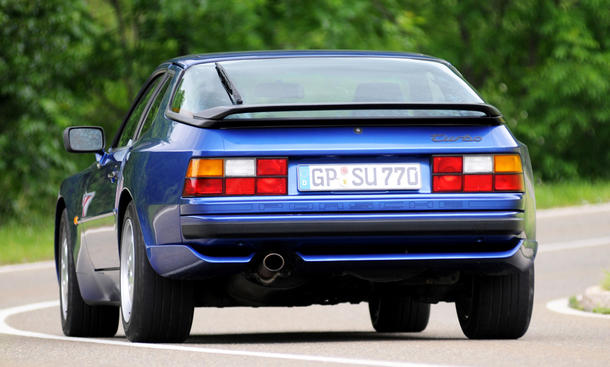 porsche 944 turbo classic cars spoiler vergleichstest heck