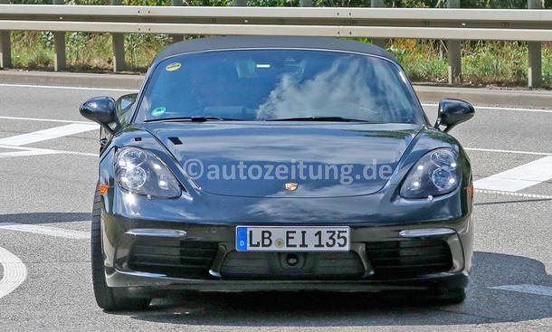 Erlkönige der Woche Porsche Boxster Facelift Vierzylinder-Turbo
