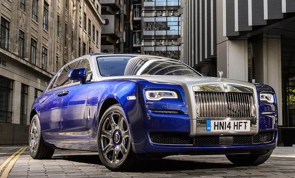 Top-12 der stärksten Luxuslimousinen: Rolls-Royce Ghost