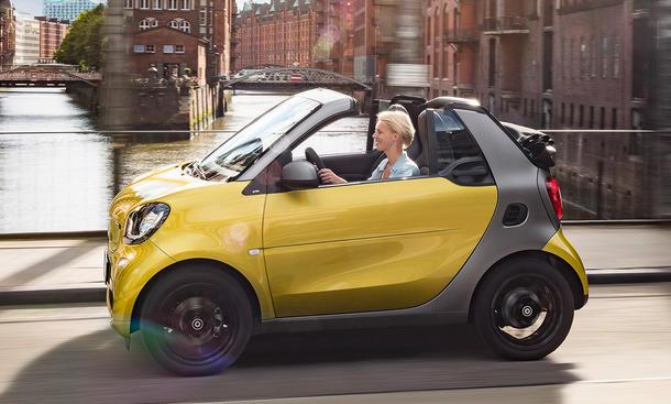 smart fortwo cabrio 2015 iaa premiere