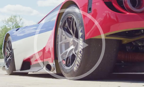 Ford GT: Rennwagen im Video