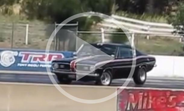 Plymouth Barracuda: Fail-Video
