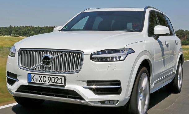 Volvo Xc90 T6 2015 Einzeltest Autozeitungde