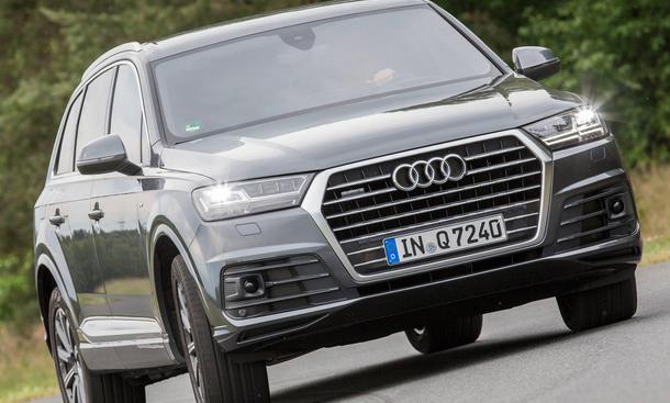 Audi Q7 3.0 TFSI quattro Luxus-SUV Test