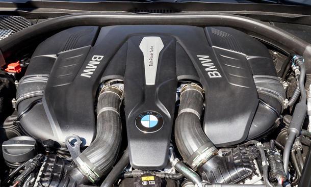 BMW 750Li Mercedes S 500 Vergleichstest