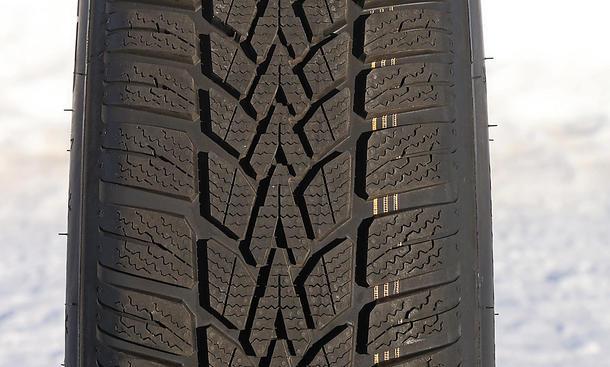 Winterreifen Test 185/65 R 15 Dunlop