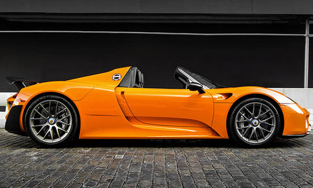 porsche 918 spyder weissach paket orange