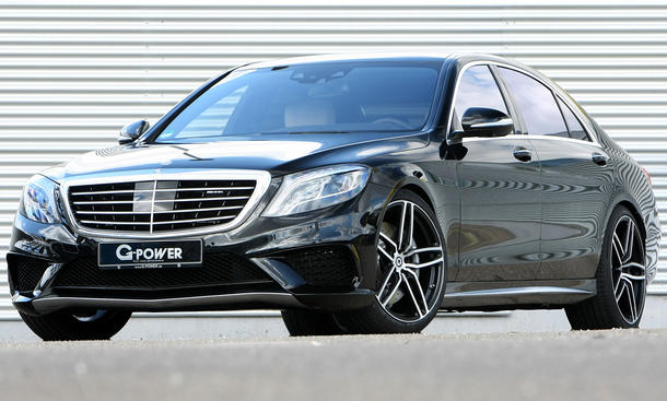 G-Power S 63 AMG Frontansicht