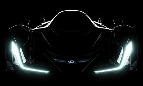Hyundai N 2025 Vision Gran Turismo IAA 2015 Supersportler Studie