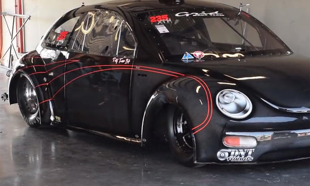 VW Beetle Drag Racing Hot Rod Brasilien