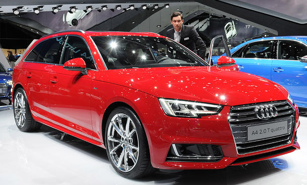 audi a4 und s4 iaa 2015 livebilder bild 5. Black Bedroom Furniture Sets. Home Design Ideas