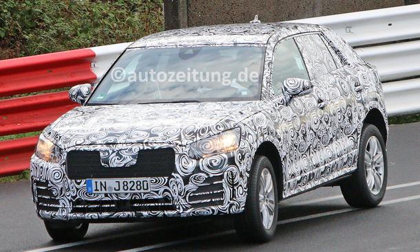 Audi Q1 Erlkönig
