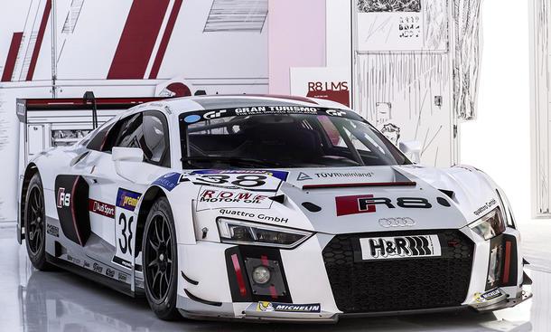 Audi R8 LMS 2015 Preis GT3-Rennwagen Motorsport Rennversion