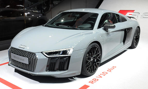 Supersportler IAA 2015 Livebilder Audi R8 V10 plus