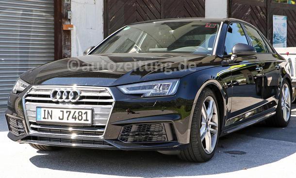Audi S4 2015 IAA Erlkönig ungetarnt Mittelklasse-Sportler