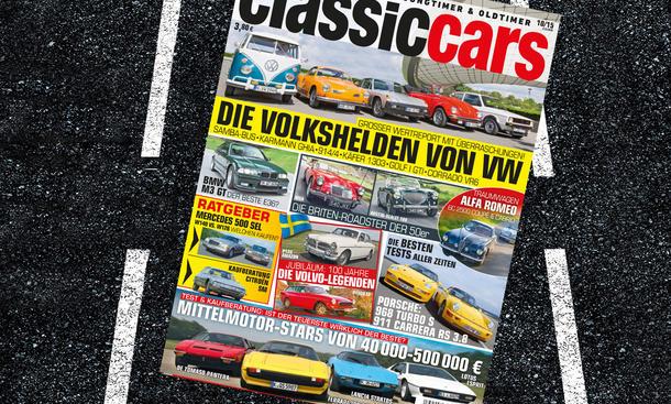 Classic Cars 10/2015 Heft-Vorschau Themen