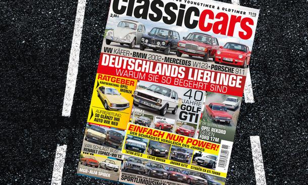 auto zeitung classic cars heft 11 2015 vorschau oldtimer