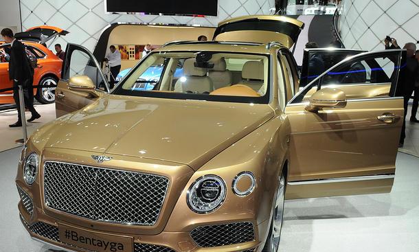 Bentley Bentayga auf der IAA 2015